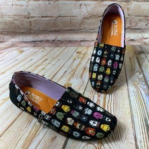 Bobs for Dogs Skechers Canvas Flats Slip On Shoes